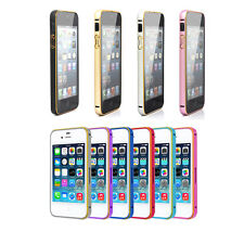New Fashion High Quality Luxury Aluminium Metal Frame Case Cover for iPhone 5/5S