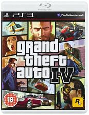 * PLAYSTATION 3 NEW SEALED GAME * GRAND THEFT AUTO IV PS3 GTA 4