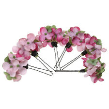 6 x Chic Wedding Bridal Party Flower Hair Clips Hairpin Flower Fairy Bobby Pins