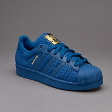 Shoes Adidas Superstar Junior s76624 boy's Navy sneakers Mesh