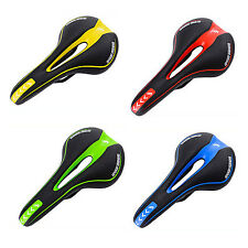 MTB Mountain Road Bicycle Bike Riding Cycling Hollow Saddle Seat Cushion Soft