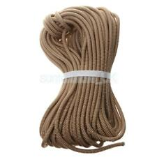 8mm 10/20/30/40m Durable Utility Climbing Safety Rappelling Auxiliary Rope Cord