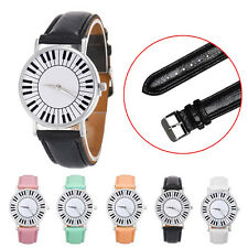 New Style Women's Piano Keyboard Pattern Dial Round Watch Students Causal Watch