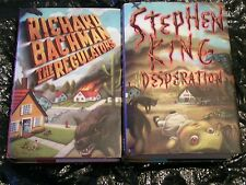 Regulators and Desperation by Stephen King 1st Edition/1st Printing (Hardcovers)