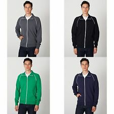 American Apparel Unisex California Fleece Full Zip Sports/Track Jacket