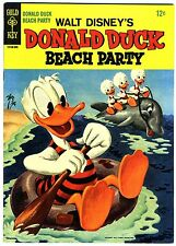 "Donald Duck Beach Party #1  VF+    1965  ""strict grading /1 day shipping"""