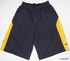 Nike Kobe Game Time 9 Mens Basketball Shorts Dri-Fit Raisin/Gold 545366-500 NWT