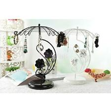 Classic Jewelry Display Detachable Umbrella Earring Stand Organizer Holder Rack