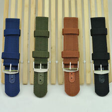 EW05 Strong INFANTRY Military Wrist Army Nylon Canvas Watch Strap Band  HCUK