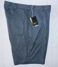 NIKE GOLF TOUR 683059 021 mens shorts PLEAT FRONT gray