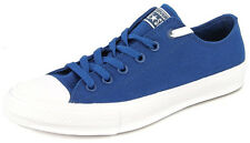 New Men's Converse Chuck Taylor All Star Ii Ox Blue/white Footwear Sneakers Shoe