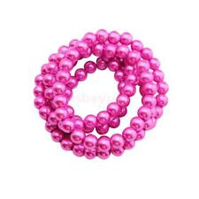 Imitation Pearl Glass Beads Round Loose Beads DIY Fashion Jewelry Makings