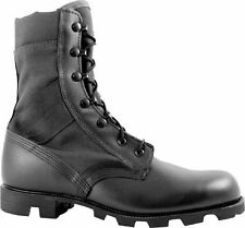 McRae Footwear 9189 Hot Weather Black Jungle Boot Panama Outsole Military Boots