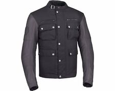 INDIAN MOTORCYCLE MENS THUNDERSTROKE JACKET- BLACK WITH LEATHER SLEEVES