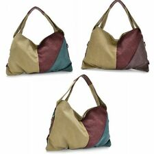 Women Canvas Handbag Hobo Bags Shoulder Bag Messenger Satchel Wallet Tote Purses