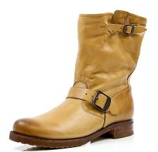 Women's Frye Veronica Shortie Camel Leather Boots Sizes  10, 11 B