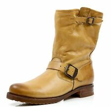Women's Frye Veronica Shortie Camel Leather Boots Sizes 9.5, 10, 11 B