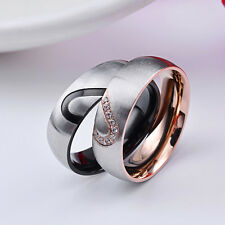 Couple Rings Love Design Fashion Design Ring for Men and Women Popular Jewelry