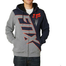 Fox Racing Diamond Sherpa Mens Hoody Zip - Indigo All Sizes