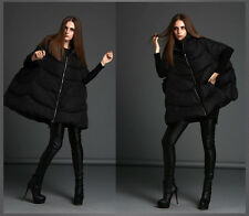 Unique Women's Winter Duck Down Jacket Loose Warm Poncho Coat Puffer Outwear Hot