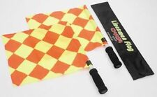 Referee/Linesman Flag/Stick Set/Case Carta W.Cup Red/Yellow Football Equipment