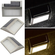 Staircase Solar Power Wall Hot Pathway Garden Yard Home Lamp Outdoor Led Light
