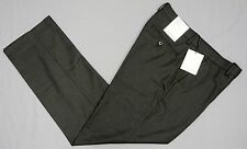 NWT $89 Calvin Klein Dress Pants Grey Straight Fit Flat Front Mens Size 30 NEW