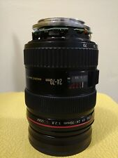 Canon EF 24-70mm f/2.8L Lens For Parts Not Working See Description