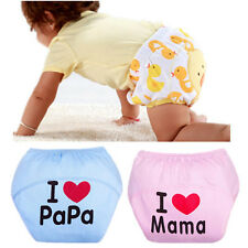 Adjustable Hot Diaper Nappy Baby Reusable Cloth Diaper Washable Leakproof New