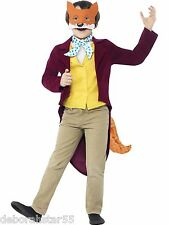 Roald Dahl Fantastic Mr Fox Fancy Dress Costume World Book Day Outfit age 7-12