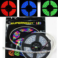 SUPERNIGHT® 3528 5050 SMD 300LEDs 150LEDs 5M Strip Light Waterproof Black PCB
