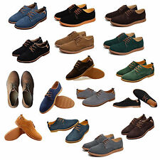 NEW 2015 Suede European style leather Shoes Men's oxfords Casual DM