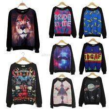 Women 3D T-shirt Sweaters Sweatshirt Blouse Tops Tracksuit Jumpers Pullover