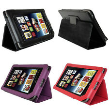 NEW PU Leather Cover Case Stand for Barnes Noble Nook Tablet/ Nook Color