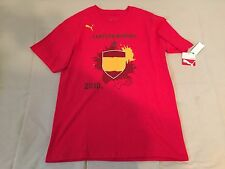 Puma Spain 2010 World Cup Champions T-shirt (New)