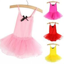 Girls Party Ballet Dance Wear Dress Skirt Kids Tutu Pettiskirt Costume Dresses