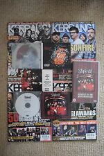 Slipknot Bundle CDs Albums/Singles/Promo RARE Postcard Magazines Gig Ticket VHS