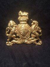 Safe Plaque Royal Coat Of Arms