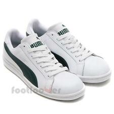 Shoes Puma Smash Vulc Tennis 356722 19 man sneakers Leather White Dark Green