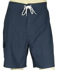 NAUTICA solid navy cargo SWIM BOARD MENS SHORTS with liner NEW with tags XL 2X