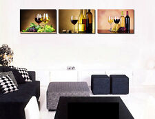 3Panel Modern Wall Art Canvas Printed Painting for Home Decor,Abstract Glass