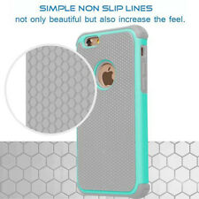 Shockproof Hybrid Rugged Rubber Hard Case Cover Skin for iPhone 6s 4.7&6 Plus 5s