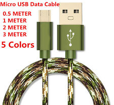 1/2/3M Micro USB 2.0 Fast Charger Data Cable Cord for Samsung Galaxy S6 S7 Edge