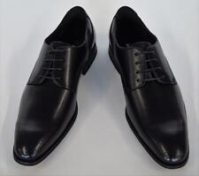 Men's Masimo Black Faux Leather Lace Up Oxford Brogue Style Dress Shoes 2516-01