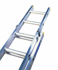 Lyte DIY Trade Aluminium Extension Ladder - Double Section - UK Manufactured