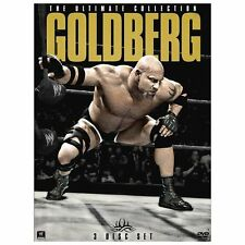 WWE: Goldberg - The Ultimate Collection New 3 Disc DVD
