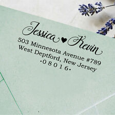 Unmounted Custom Stamp Personalized Wood Mounted Rubber Family Address Stamp