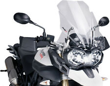 PUIG TOURING WINDSCREEN CLEAR TIGER 800 Fits: Triumph Tiger 800 XC SE,Tiger 800,