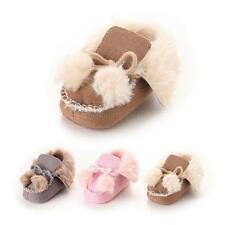 Newborn Baby Soft Sole Crib Shoes Cotton First Walker Winter Warm Thick Shoes