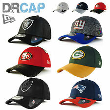 NEW ERA 39THIRTY NFL CURVED PEAK STRETCH FIT GENUINE AUTHENTIC BASEBALL CAP S-XL